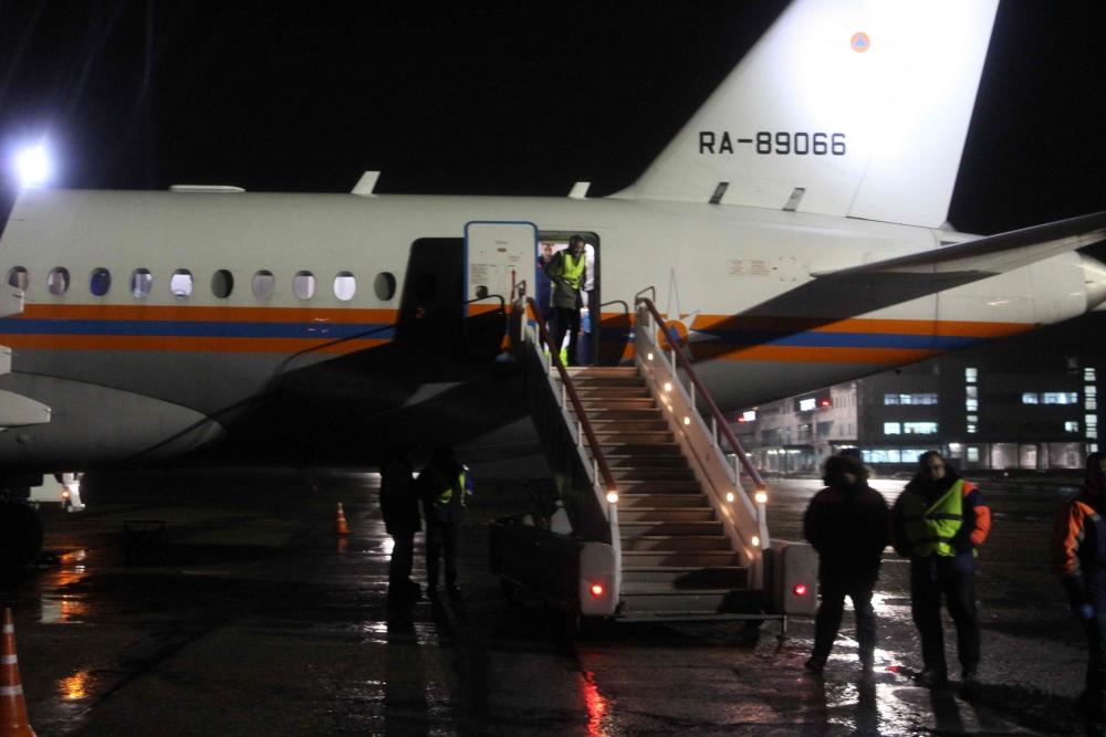 Спецборт МЧС России выполнил санитарно-авиационную эвакуацию томича из Москвы