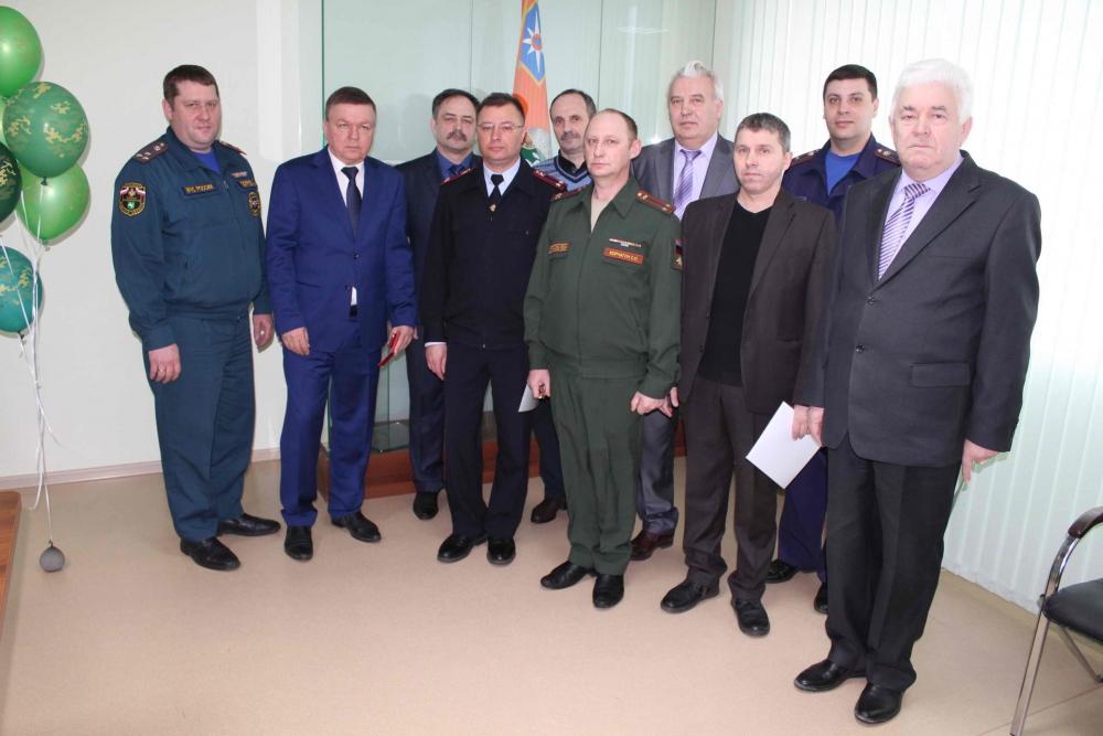 Торжественное собрание, посвященное Всемирному дню гражданской обороны