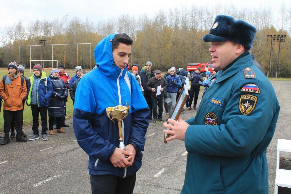 Соревнования по пожарно-прикладному спорту среди учащихся школ г. Томска, 10-11 октября 2016 года