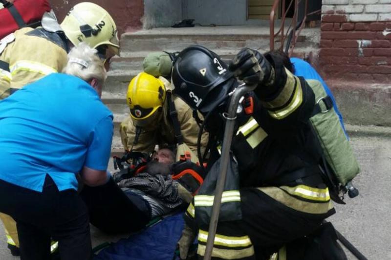 На пожаре по адресу пр. Коммунистический 125 спасено 18 человек (9 июня 2018 года)