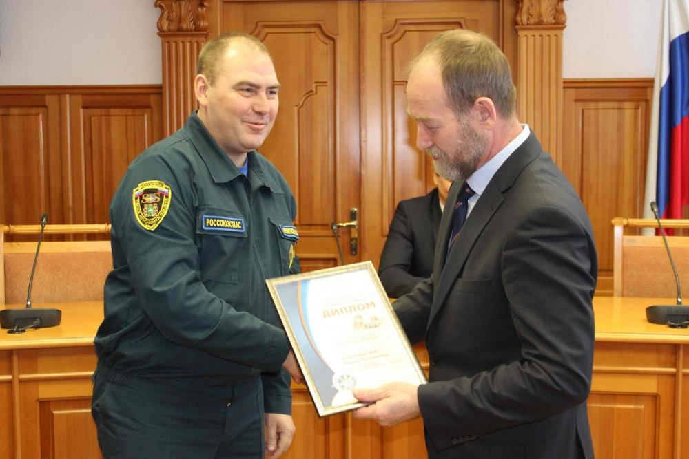Награждение победителей регионального этапа VIII Всероссийского фестиваля по тематике безопасности и спасения людей «Созвездие мужества»