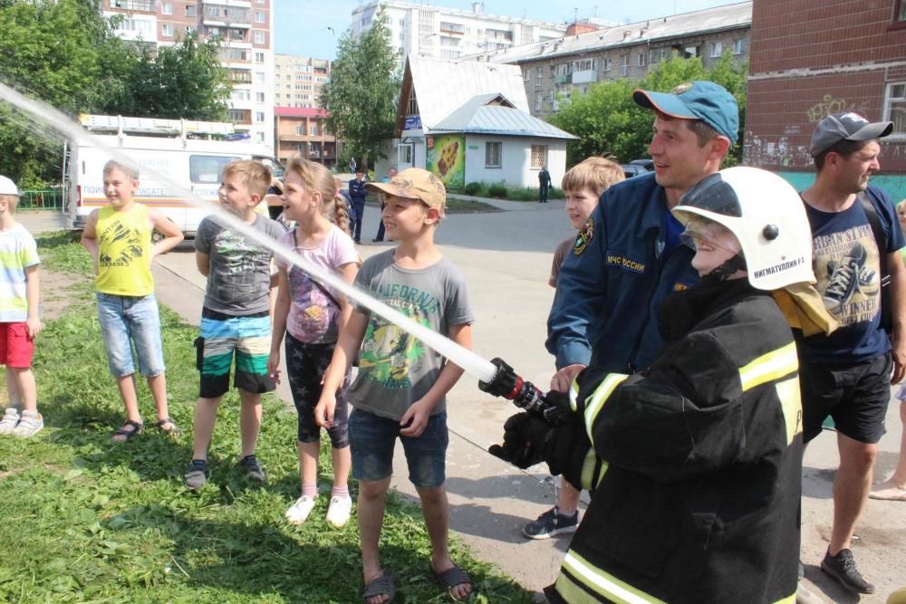 Праздник безопасности для детей в Советском районе г. Томска