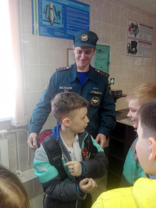 Экскурсии школьников в СПСЧ № 6