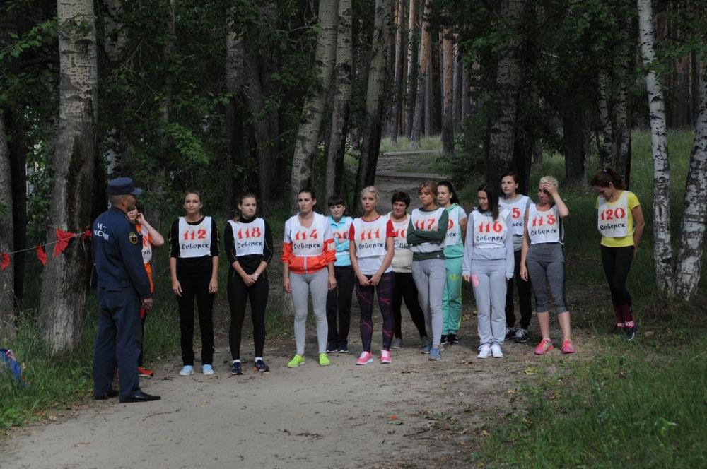 Легкоатлетический кросс среди подразделений Специального управления ФПС № 8 МЧС России
