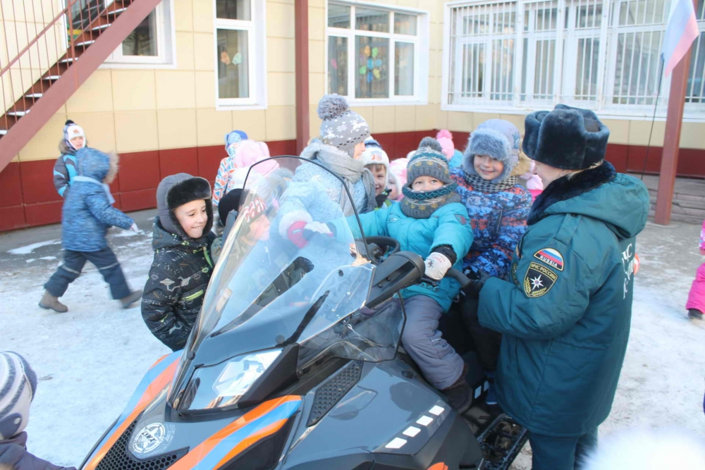 Урок безопасности на воде в детском саду № 38 г. Томска, 18 ноября 2015 года
