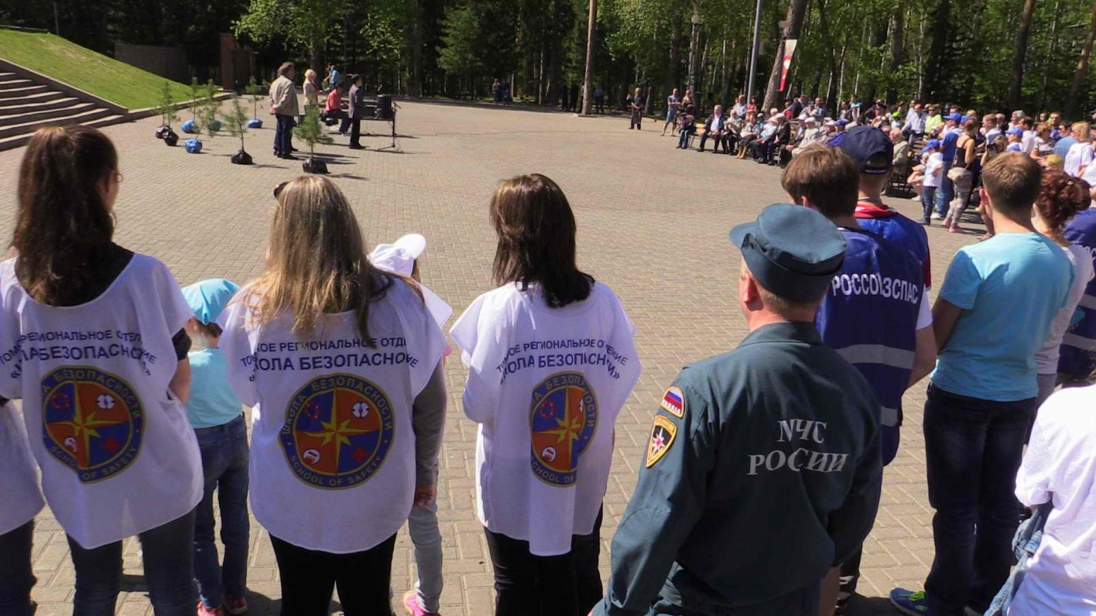 Посадка кедров в Лагерном саду в рамках проведения всероссийской акции «Лес Победы», 16 мая 2015 года