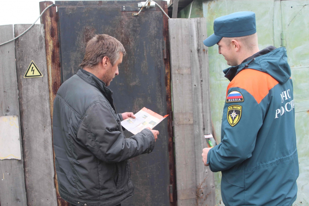 В Томске и районах области проходят противопожарные рейды (18 сентября 2019 года)