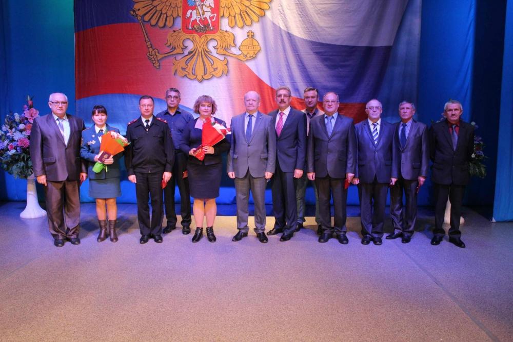 Торжественное мероприятие, посвященное Дню гражданской обороны России