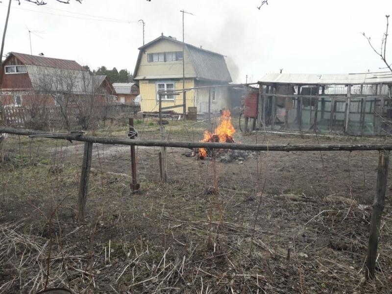 Профилактические рейды ОФГПН по садоводческим обществам на территории ЗАТО Северск (9 мая 2017 года)