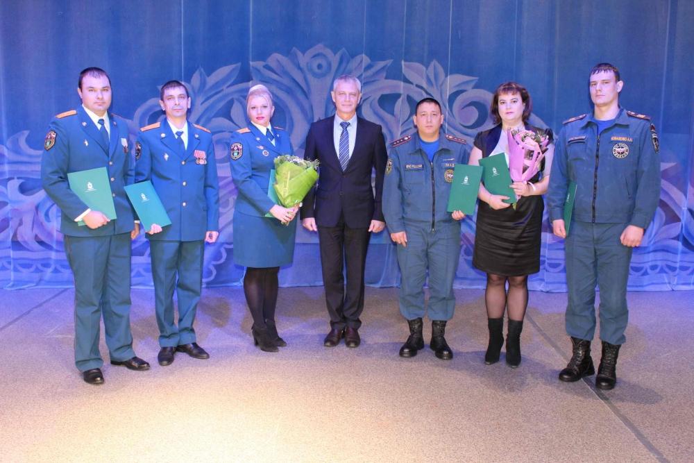 Торжественное мероприятие, посвященное Дню спасателя Российской Федерации-