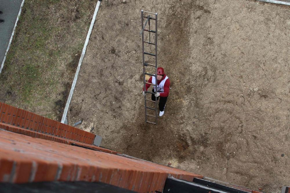 Соревнования по пожарно-прикладному спорту среди студенческих добровольных пожарных дружин