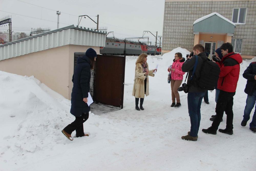 Пресс-тур в защитное сооружение гражданской обороны железнодорожной станции Томск-II