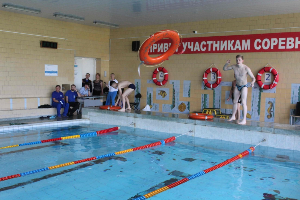 VI городской спортивный праздник по водно-спасательному многоборью «Спасатель-2017» в Северске