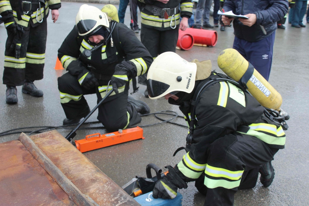 Соревнования по функциональному силовому многоборью пожарных и спасателей