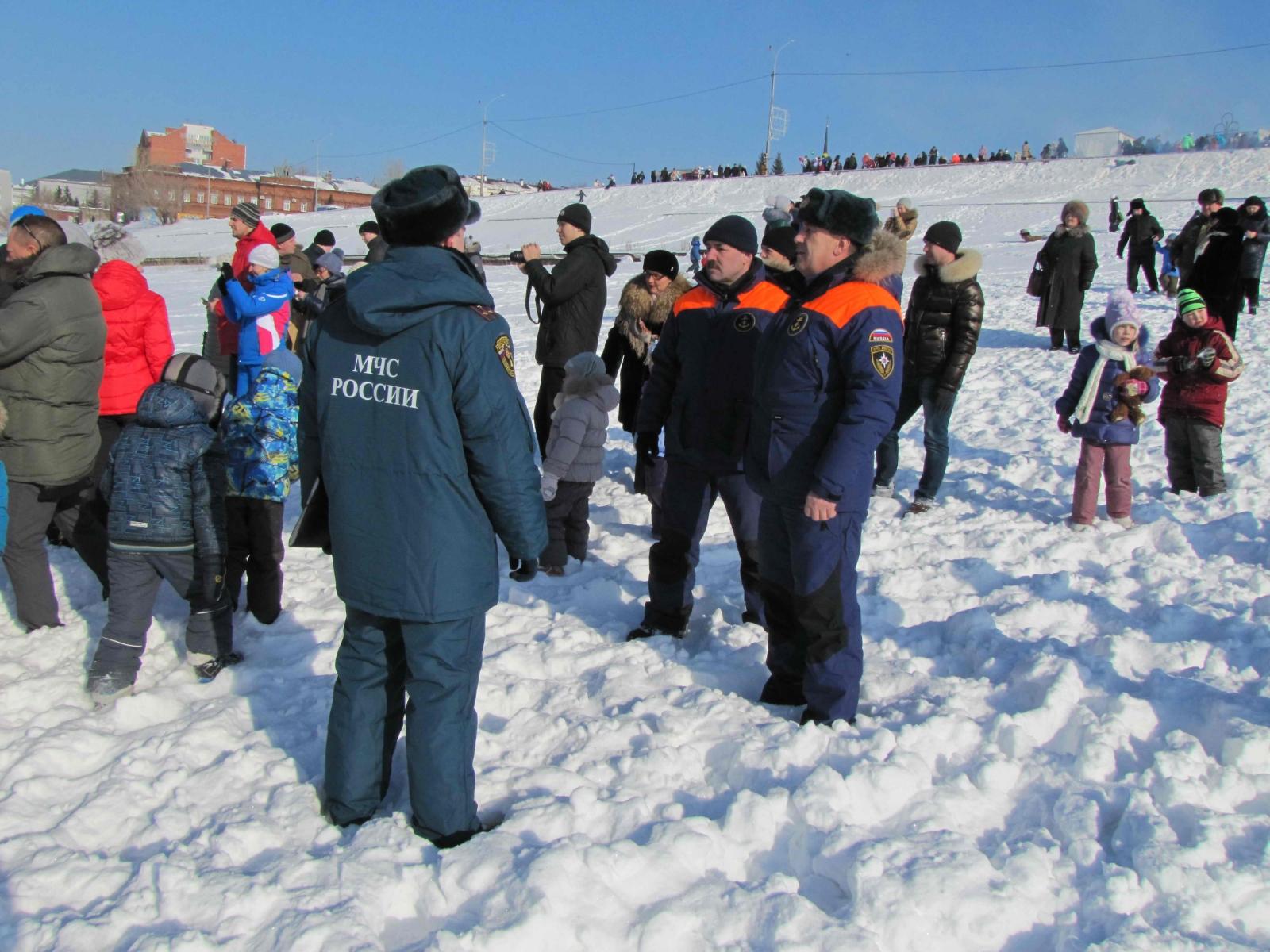 Обеспечение пожарной безопасности при праздновании Масленицы, 22 февраля 2015 года