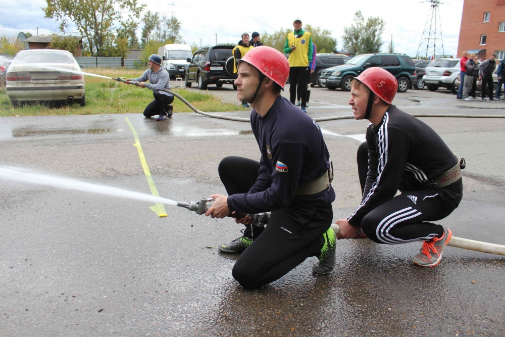 Чемпионат по пожарно-прикладному спорту среди подразделений Томского пожарно-спасательного гарнизона