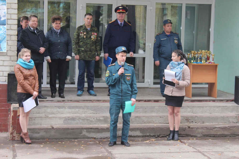 VIII областные соревнования по военизированному кроссу «Юный разведчик»