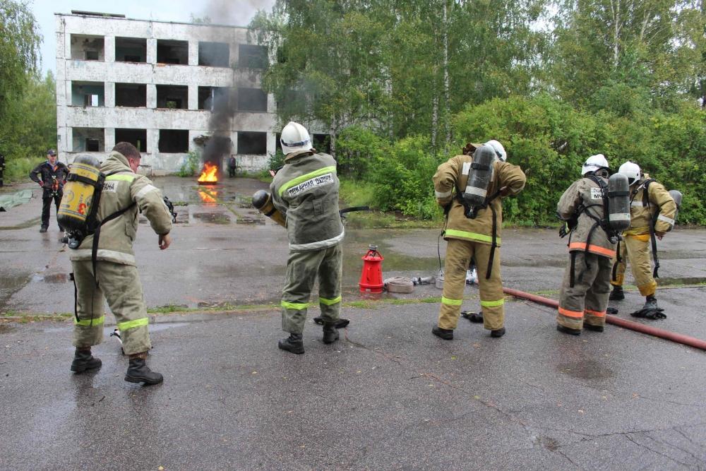 II региональные соревнования среди профессиональных аварийно-спасательных формирований на кубок «Межрегионспас»