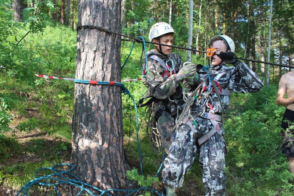 Открытие областных соревнований «Школа безопасности». Этап «Полоса препятствий».