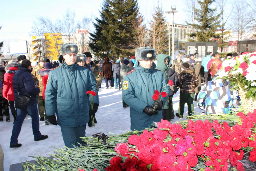 Митинг, посвященный 30-ой годовщине со дня вывода советских войск из Афганистана (15 февраля 2019 года)