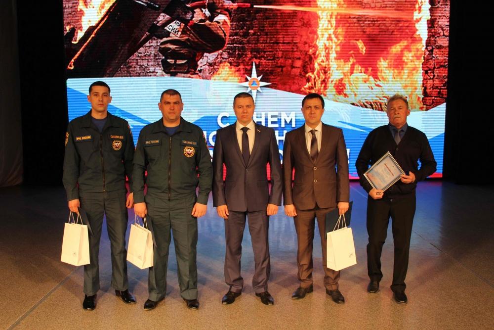 Торжественное мероприятие, посвященное Дню пожарной охраны России (Дворец народного творчества «Авангард»)