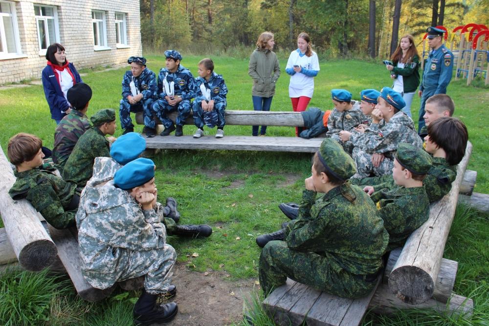 VII областные соревнования по военизированному кроссу «Юный разведчик»