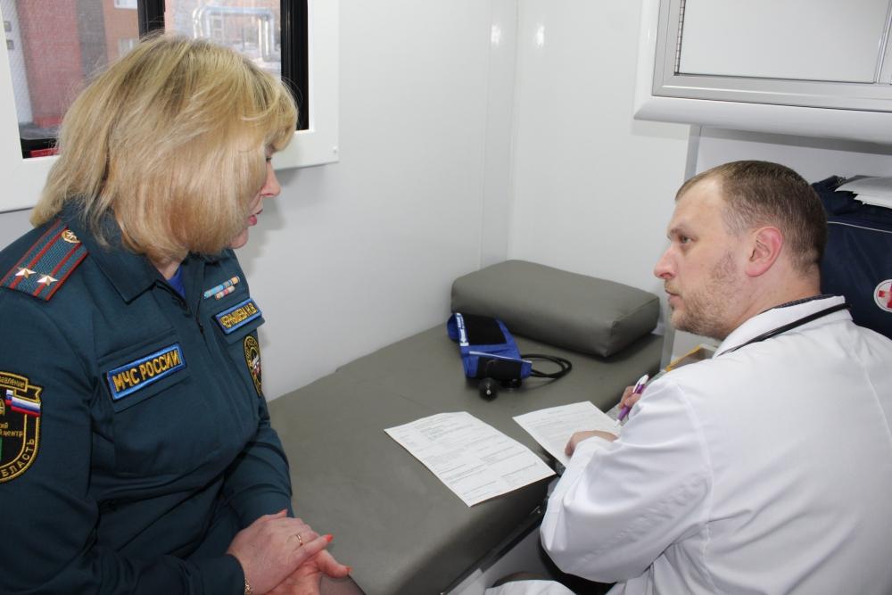 Томские сотрудники МЧС приняли участие в акции «Больше доноров – больше жизни»