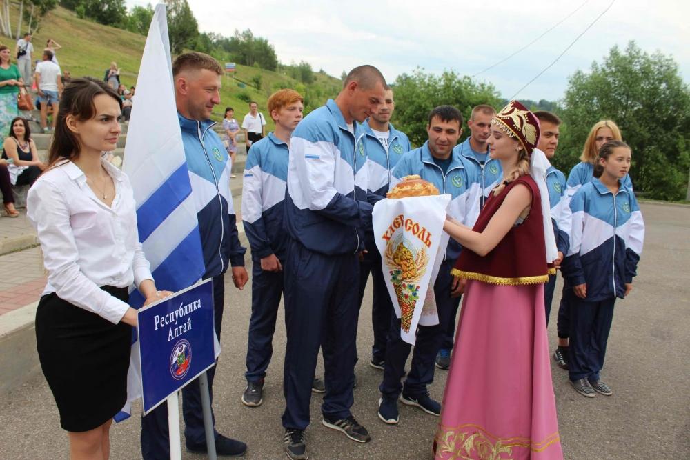 Открытие Всероссийских зональных соревнований МЧС России по пожарно-спасательному спорту