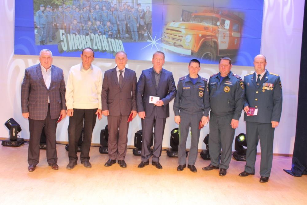 Торжественное мероприятие, посвященное 120-летию пожарно-спасательной части № 3 г. Томска