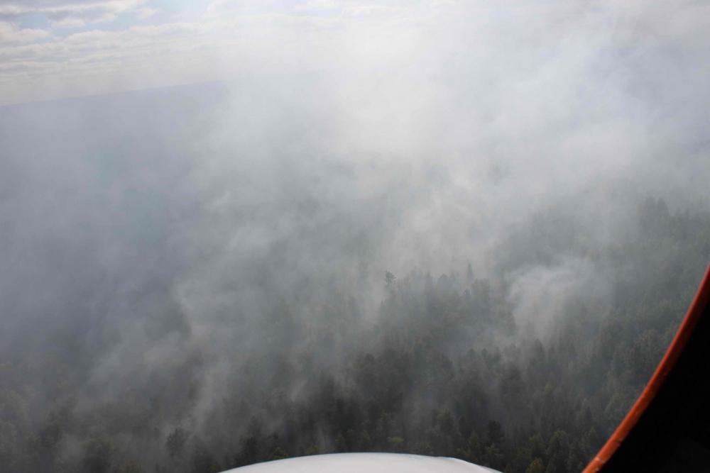 Авиаоблет по лесопожарной обстановке