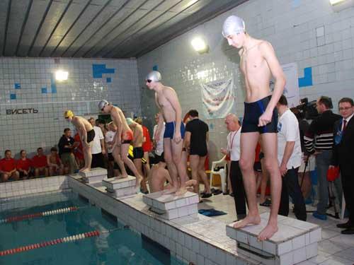 Соревнования по водно-спасательному многоборью в честь Дня спасателя