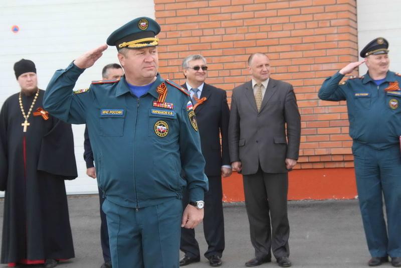 Торжественное мероприятие в Главном управлении МЧС России по Томской области, посвященное Дню Победы