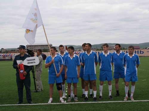 Региональный этап Чемпионата МЧС России по мини-футболу в Республике Хакасия.