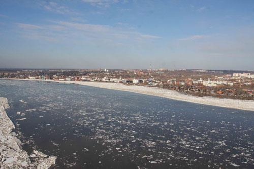 Томск во время ледохода