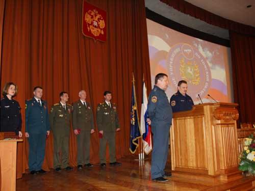 Сборы с руководящим составом ГОЧС Томской области по итогам за 2009 год