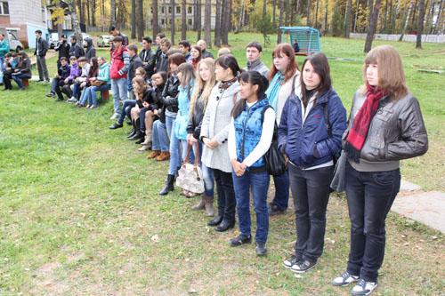 Посвящение в спасатели студентов НИ ТПУ