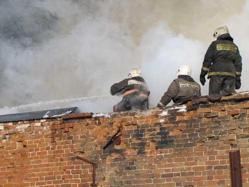 Пожар на ул. Войкова, 8.