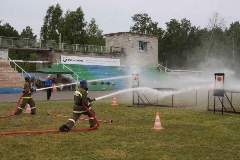 Соревнования по пожарно-прикладному спорту среди добровольных пожарных дружин ОАО «Центрсибнефтепровод»