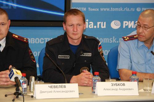 Пресс-конференция в РИА Новости по поиску заблудившегося мальчика в Асиновском районе