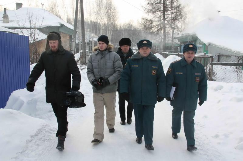 Рейд в жилом секторе Ленинского района г. Томска