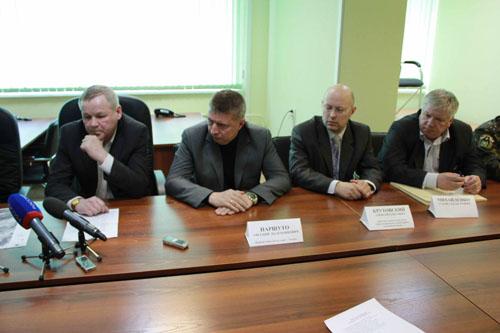 Пресс-конференция в Главном управлении МЧС России по Томской области по паводку