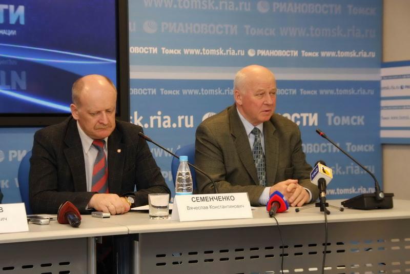 Пресс-конференция в РИА Новости по безопасному пропуску паводковых вод