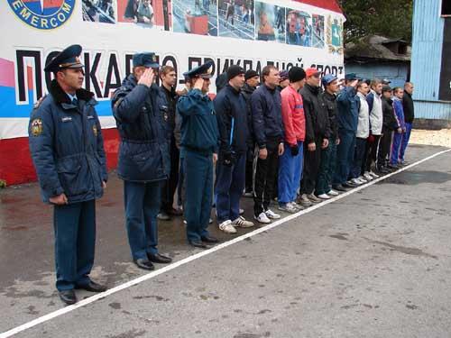 Соревнования по пожарно-спасательному спорту среди подразделений ФПС г. Томска