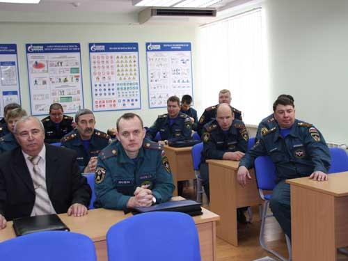 Сборы начальников по надзору в области ГО в г. Томске