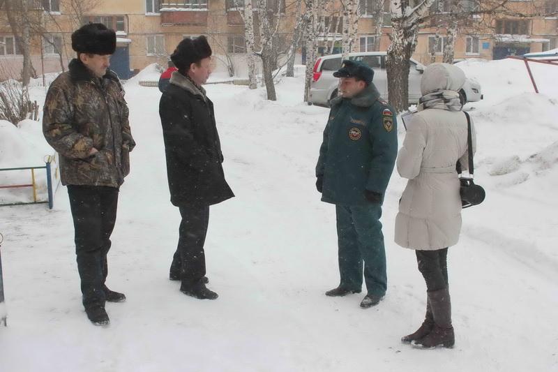 Рейд по многоквартирным домам Ленинского района г. Томска