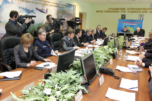 Заседание областной межведомственной комиссии по предупреждению и ликвидации чрезвычайных ситуаций и обеспечению пожарной безопасности по подготовке к пропуску паводковых вод