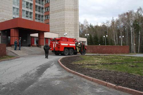 """Пожарно-тактические учения в конгресс-центре """"Рубин"""""""