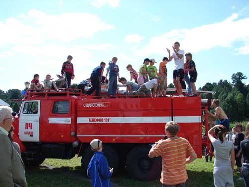День безопасности в детском лагере Солнечная республика