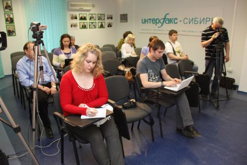 Пресс-конференция в Интерфаксе по предупреждению лесных пожаров