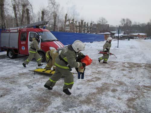 Соревнования по проведению аварийно-спасательных работ при ликвидации последствий дорожно-транспортных происшествий среди подразделений федеральной противопожарной службы МЧС России по Томской области